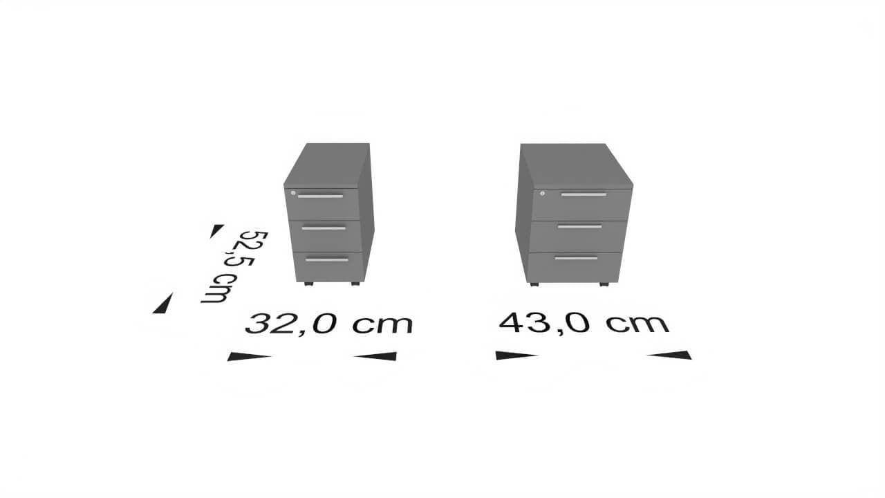 rysunek dwóch kontenerków