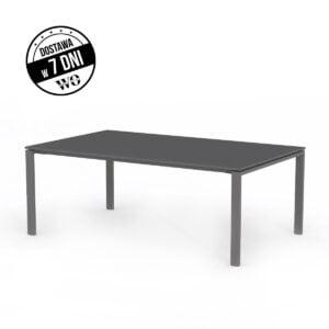 ciemny stół konferencyjny 200 cm