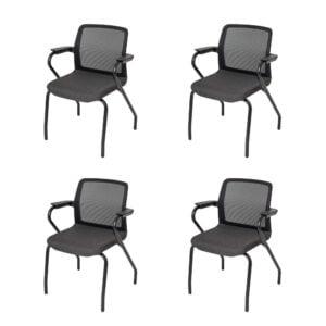 4 sztuki krzeseł konferencyjnych