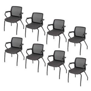 8 sztuk krzeseł konferencyjnych