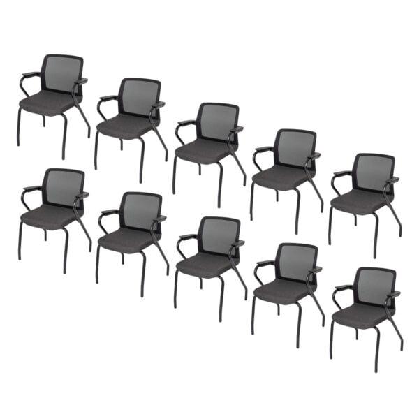 10 sztuk krzeseł do sali konferencyjnej