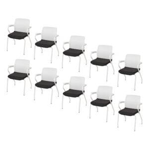 10 krzeseł do biura