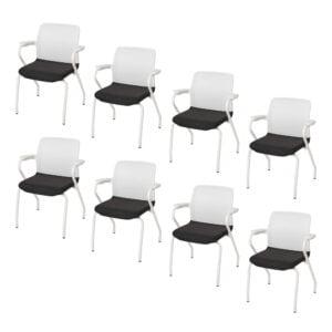 8 sztuk foteli konf