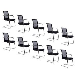10 foteli do sali konf