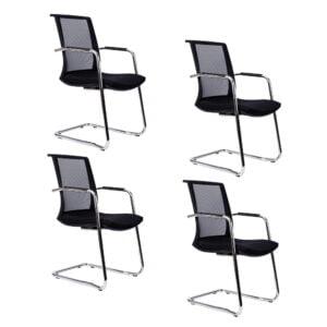 cztery sztuki foteli