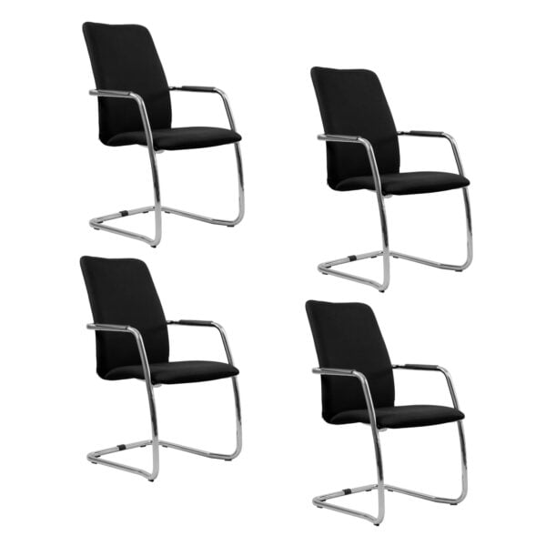 cztery fotel do salki